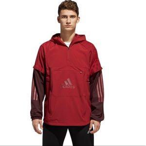 adidas Athletics ID Woven Anaorak Shell size 2X